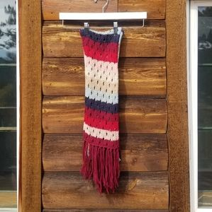 Hollister Multi-Colored Knit Scarf
